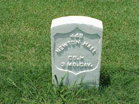 HALL (VETERAN UNION), NEWTON - Pulaski County, Arkansas | NEWTON HALL (VETERAN UNION) - Arkansas Gravestone Photos