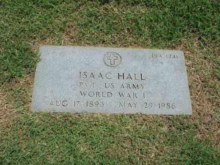 HALL (VETERAN WWI), ISAAC - Pulaski County, Arkansas | ISAAC HALL (VETERAN WWI) - Arkansas Gravestone Photos
