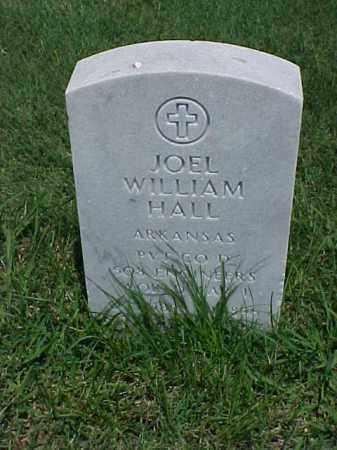 HALL (VETERAN WWI), JOEL WILLIAM - Pulaski County, Arkansas   JOEL WILLIAM HALL (VETERAN WWI) - Arkansas Gravestone Photos