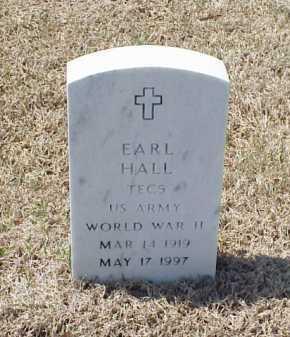 HALL (VETERAN WWII), EARL - Pulaski County, Arkansas | EARL HALL (VETERAN WWII) - Arkansas Gravestone Photos