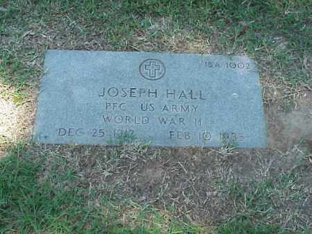 HALL (VETERAN WWII), JOSEPH - Pulaski County, Arkansas | JOSEPH HALL (VETERAN WWII) - Arkansas Gravestone Photos