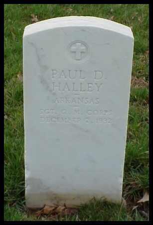 HALLEY (VETERAN WWI), PAUL D - Pulaski County, Arkansas   PAUL D HALLEY (VETERAN WWI) - Arkansas Gravestone Photos