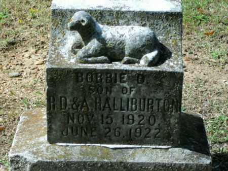 HALLIBURTON, BOBBIE D - Pulaski County, Arkansas | BOBBIE D HALLIBURTON - Arkansas Gravestone Photos