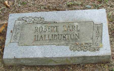 HALLIBURTON, ROBERT  EARL - Pulaski County, Arkansas | ROBERT  EARL HALLIBURTON - Arkansas Gravestone Photos