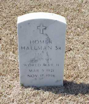 HALLMAN, SR (VETERAN WWII), HOMER - Pulaski County, Arkansas | HOMER HALLMAN, SR (VETERAN WWII) - Arkansas Gravestone Photos