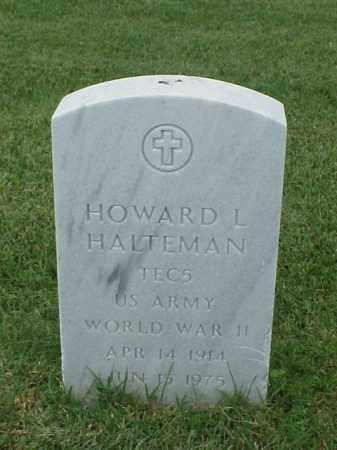 HALTEMAN (VETERAN WWII), HOWARD L - Pulaski County, Arkansas | HOWARD L HALTEMAN (VETERAN WWII) - Arkansas Gravestone Photos