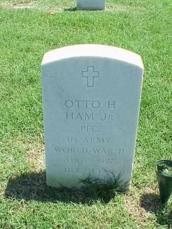 HAM, JR (VETERAN WWII), OTTO H - Pulaski County, Arkansas | OTTO H HAM, JR (VETERAN WWII) - Arkansas Gravestone Photos