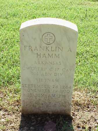 HAM (VETERAN VIET), FRANKLIN A - Pulaski County, Arkansas | FRANKLIN A HAM (VETERAN VIET) - Arkansas Gravestone Photos