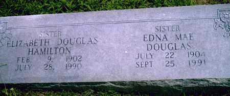 DOUGLAS HAMILTON, ELIZABETH - Pulaski County, Arkansas   ELIZABETH DOUGLAS HAMILTON - Arkansas Gravestone Photos