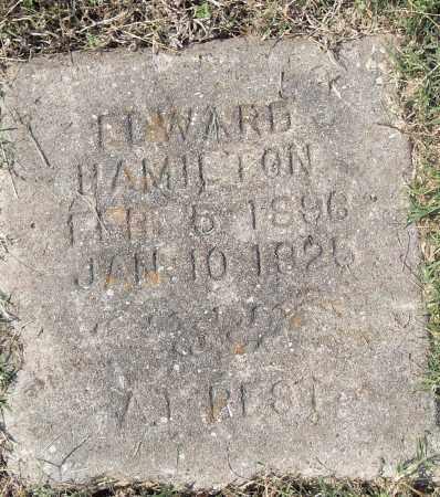 HAMILTON, EDWARD - Pulaski County, Arkansas | EDWARD HAMILTON - Arkansas Gravestone Photos