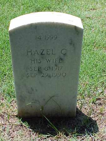 HAMILTON, HAZEL C - Pulaski County, Arkansas | HAZEL C HAMILTON - Arkansas Gravestone Photos