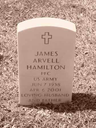 HAMILTON (VETERAN), JAMES ARVELL - Pulaski County, Arkansas   JAMES ARVELL HAMILTON (VETERAN) - Arkansas Gravestone Photos