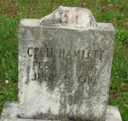 HAMLETT, CECIL - Pulaski County, Arkansas | CECIL HAMLETT - Arkansas Gravestone Photos