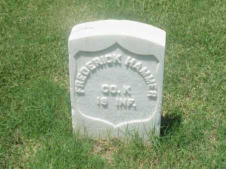 HAMMER (VETERAN UNION), FREDERICK - Pulaski County, Arkansas   FREDERICK HAMMER (VETERAN UNION) - Arkansas Gravestone Photos