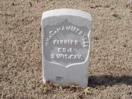 HAMMERSLEY  (VETERAN UNION), WILLIAM C - Pulaski County, Arkansas | WILLIAM C HAMMERSLEY  (VETERAN UNION) - Arkansas Gravestone Photos