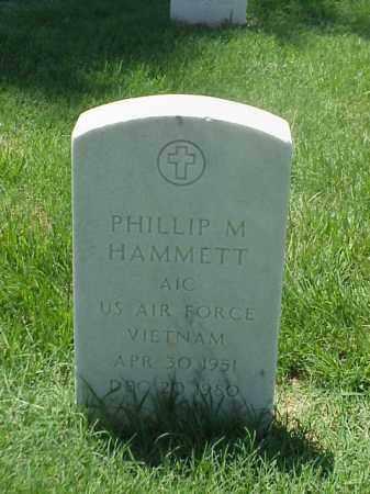 HAMMETT (VETERAN VIET), PHILLIP M - Pulaski County, Arkansas   PHILLIP M HAMMETT (VETERAN VIET) - Arkansas Gravestone Photos