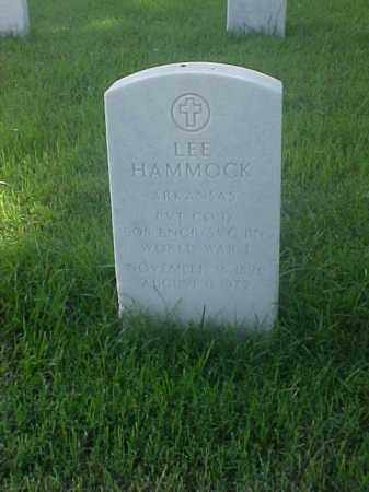 HAMMOCK (VETERAN WWI), LEE - Pulaski County, Arkansas | LEE HAMMOCK (VETERAN WWI) - Arkansas Gravestone Photos