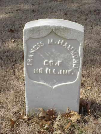 HAMMOND  (VETERAN UNION), FRANCIS M - Pulaski County, Arkansas | FRANCIS M HAMMOND  (VETERAN UNION) - Arkansas Gravestone Photos