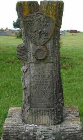 HAMMOND, LOVIE M. - Pulaski County, Arkansas | LOVIE M. HAMMOND - Arkansas Gravestone Photos