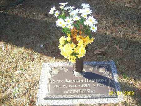 JOHNSON HAMMOND, PATSY ANN - Pulaski County, Arkansas | PATSY ANN JOHNSON HAMMOND - Arkansas Gravestone Photos