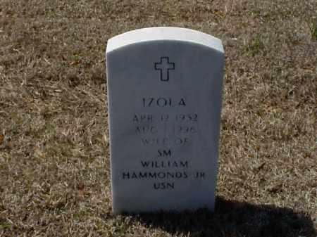 HAMMONDS, IZOLA - Pulaski County, Arkansas   IZOLA HAMMONDS - Arkansas Gravestone Photos
