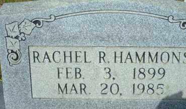 HAMMONS, RACHEL R. - Pulaski County, Arkansas   RACHEL R. HAMMONS - Arkansas Gravestone Photos