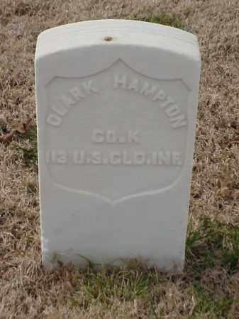 HAMPTON (VETERAN UNION), CLARK - Pulaski County, Arkansas | CLARK HAMPTON (VETERAN UNION) - Arkansas Gravestone Photos