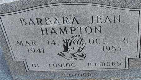 HAMPTON, BARBARA JEAN - Pulaski County, Arkansas   BARBARA JEAN HAMPTON - Arkansas Gravestone Photos
