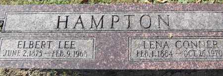 HAMPTON, LENA - Pulaski County, Arkansas | LENA HAMPTON - Arkansas Gravestone Photos
