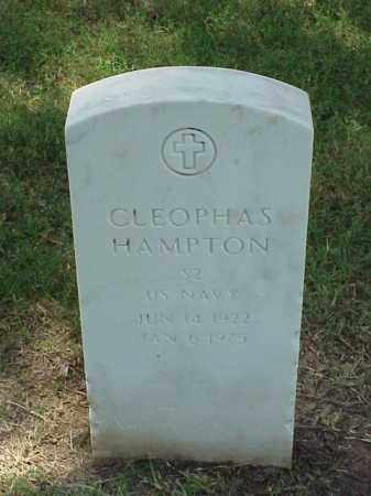 HAMPTON (VETERAN WWII), CLEOPHAS - Pulaski County, Arkansas   CLEOPHAS HAMPTON (VETERAN WWII) - Arkansas Gravestone Photos
