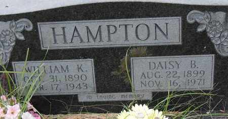 HAMPTON, WILLIAM K - Pulaski County, Arkansas | WILLIAM K HAMPTON - Arkansas Gravestone Photos
