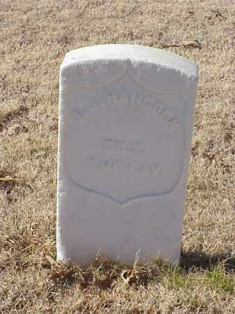 HANCOCK  (VETERAN UNION), J J - Pulaski County, Arkansas | J J HANCOCK  (VETERAN UNION) - Arkansas Gravestone Photos
