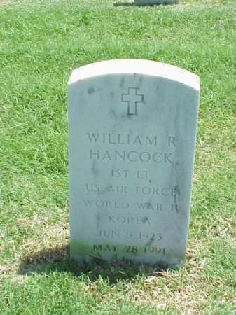 HANCOCK (VETERAN 2 WARS), WILLIAM R - Pulaski County, Arkansas | WILLIAM R HANCOCK (VETERAN 2 WARS) - Arkansas Gravestone Photos