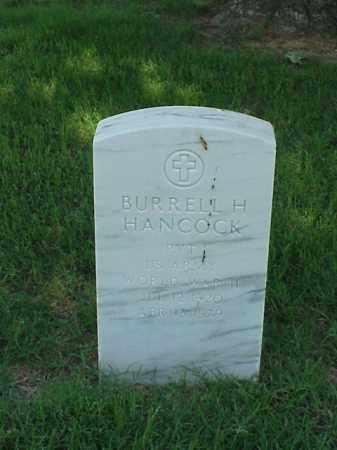 HANCOCK (VETERAN WWII), BURRELL H - Pulaski County, Arkansas   BURRELL H HANCOCK (VETERAN WWII) - Arkansas Gravestone Photos