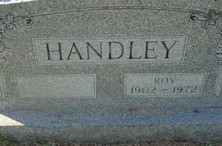 HANDLEY, ROY - Pulaski County, Arkansas | ROY HANDLEY - Arkansas Gravestone Photos