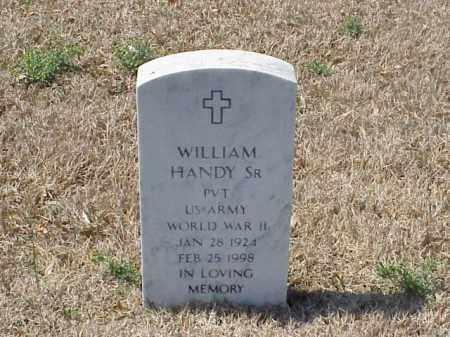 HANDY, SR (VETERAN WWII), WILLIAM - Pulaski County, Arkansas | WILLIAM HANDY, SR (VETERAN WWII) - Arkansas Gravestone Photos