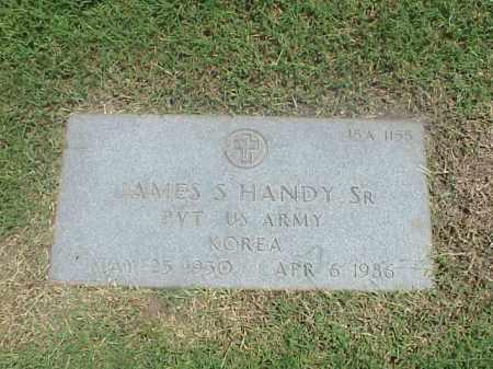 HANDY, SR (VETERAN KOR), JAMES S - Pulaski County, Arkansas | JAMES S HANDY, SR (VETERAN KOR) - Arkansas Gravestone Photos
