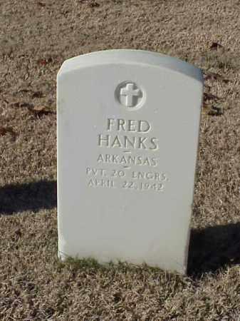 HANKS  (VETERAN WWI), FRED - Pulaski County, Arkansas | FRED HANKS  (VETERAN WWI) - Arkansas Gravestone Photos
