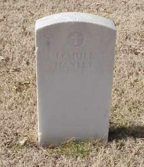 HANLEY  (VETERAN UNION), LEMUEL - Pulaski County, Arkansas   LEMUEL HANLEY  (VETERAN UNION) - Arkansas Gravestone Photos