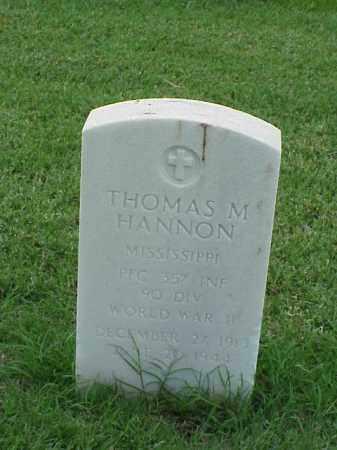 HANNON  (VETERAN WWII), THOMAS M - Pulaski County, Arkansas | THOMAS M HANNON  (VETERAN WWII) - Arkansas Gravestone Photos