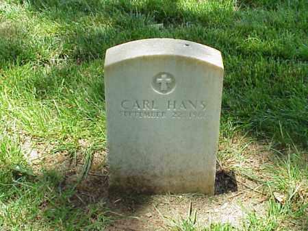 HANS (VETERAN UNION), CARL - Pulaski County, Arkansas | CARL HANS (VETERAN UNION) - Arkansas Gravestone Photos