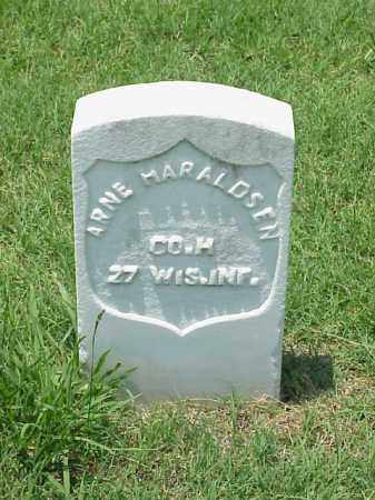 HARALDSEN (VETERAN UNION), ARNE - Pulaski County, Arkansas | ARNE HARALDSEN (VETERAN UNION) - Arkansas Gravestone Photos