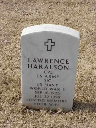 HARALSON  (VETERAN WWII), LAWRENCE - Pulaski County, Arkansas | LAWRENCE HARALSON  (VETERAN WWII) - Arkansas Gravestone Photos