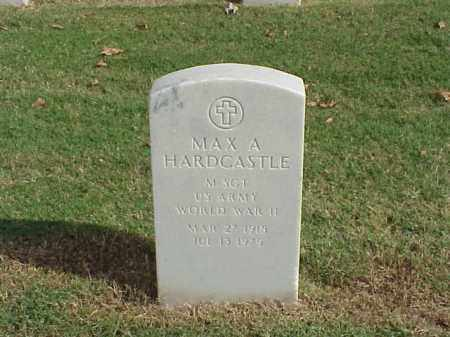 HARDCASTLE  (VETERAN WWII), MAX A - Pulaski County, Arkansas | MAX A HARDCASTLE  (VETERAN WWII) - Arkansas Gravestone Photos