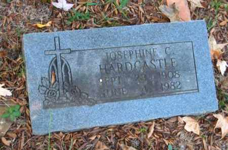 HARDCASTLE, JOSEPHINE C - Pulaski County, Arkansas | JOSEPHINE C HARDCASTLE - Arkansas Gravestone Photos