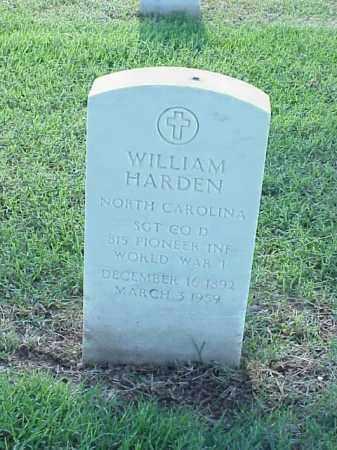 HARDEN (VETERAN WWI), WILLIAM - Pulaski County, Arkansas | WILLIAM HARDEN (VETERAN WWI) - Arkansas Gravestone Photos