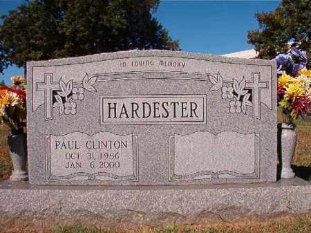 HARDESTER, PAUL CLINTON - Pulaski County, Arkansas | PAUL CLINTON HARDESTER - Arkansas Gravestone Photos