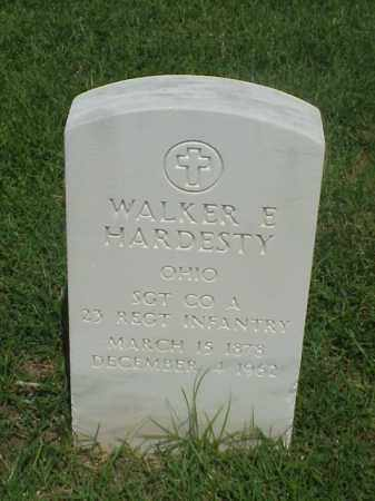HARDESTY (VETERAN SAW), WALKER E - Pulaski County, Arkansas   WALKER E HARDESTY (VETERAN SAW) - Arkansas Gravestone Photos