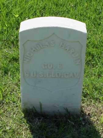 HARDIN (VETERAN UNION), NICHOLAS - Pulaski County, Arkansas   NICHOLAS HARDIN (VETERAN UNION) - Arkansas Gravestone Photos