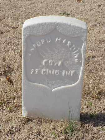 HARDING  (VETERAN UNION), SANFORD - Pulaski County, Arkansas | SANFORD HARDING  (VETERAN UNION) - Arkansas Gravestone Photos
